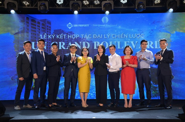 Sun Group hợp tác chiến lược với 8 đại lý phân phối dự án Sun Grand Boulevard - Ảnh 3.