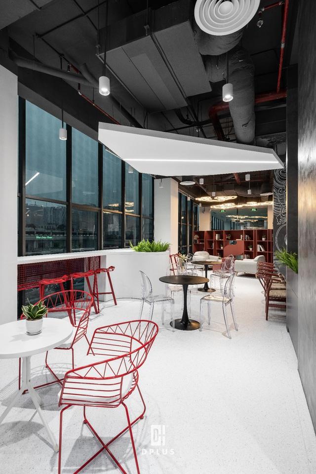 Thiết kế văn phòng công nghệ, không gian sáng tạo trị giá hàng tỷ VNĐ tại Hà Nội - Ảnh 4.