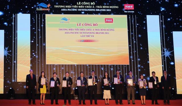 G-Group nhận giải thưởng top 10 Thương hiệu tiêu biểu châu Á - Thái Bình Dương 2021 - Ảnh 1.