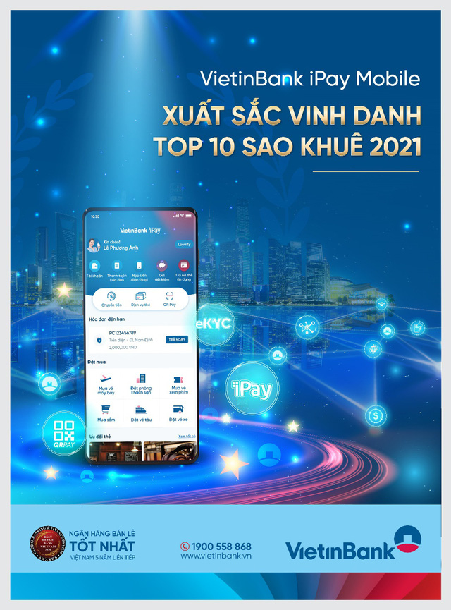 VietinBank iPay Mobile nhận giải thưởng uy tín - Ảnh 1.