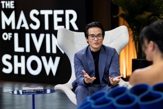 Talkshow The Master of Living Show, kết hợp cùng ca sỹ Hà Anh Tuấn - Ảnh 2.