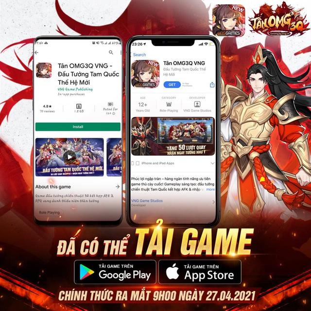 Chính thức ra mắt vào sáng nay, Tân OMG3Q VNG khẳng định vị thế siêu phẩm tiếp theo của làng game Việt - Ảnh 5.