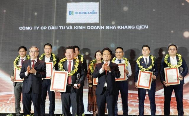 Khang Điền đạt top 10 chủ đầu tư bất động sản uy tín năm 2021 - Ảnh 1.