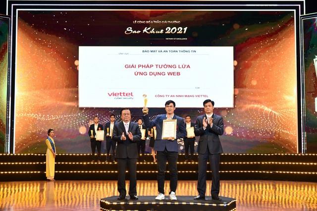 Viettel dẫn đầu giải thưởng sao khuê bằng các sản phẩm chủ lực xây dựng xã hội số - Ảnh 1.