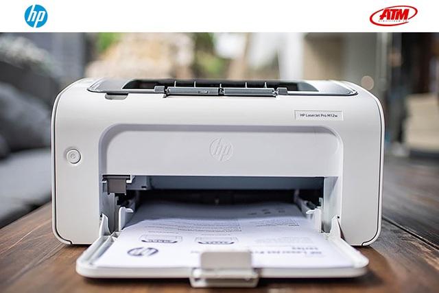 HP Laserjet M12w Pro – Lựa chọn hợp lý cho học tập và làm việc - Ảnh 1.