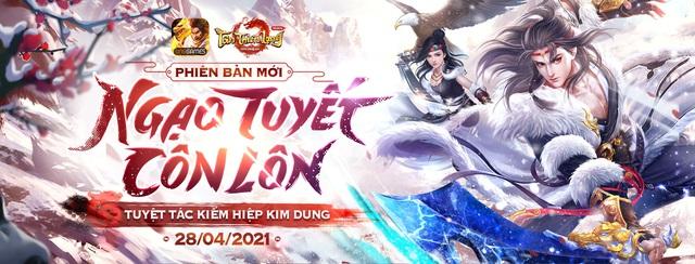 Tân Thiên Long Mobile: Chính thức ra mắt phiên bản mới Ngạo Tuyết Côn Lôn - Ảnh 1.