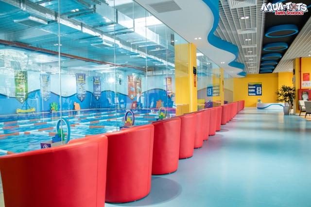 Khác biệt với bơi sinh tồn Aqua-Tots chuẩn Mỹ tại ASC Education - Ảnh 3.