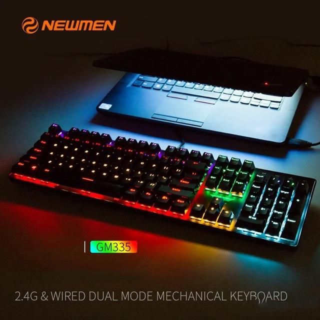 """""""F5"""" công việc và giải trí của bạn với bộ đôi bàn phím cơ không dây 2 chế độ của Newmen - Ảnh 5."""