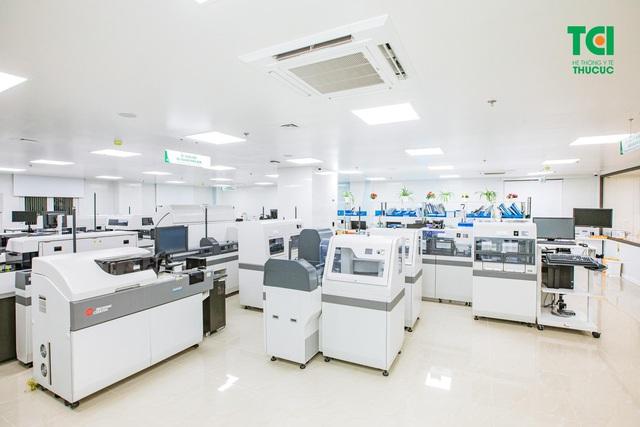 Hệ thống y tế sở hữu các cơ sở có quy mô lớn tại Hà Nội - Ảnh 4.