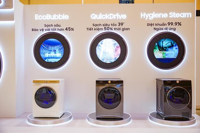 Từ chiếc máy giặt có trí tuệ nhân tạo tới TV công nghệ hoàn toàn mới, đây là cách Samsung chinh phục người dùng - Ảnh 3.