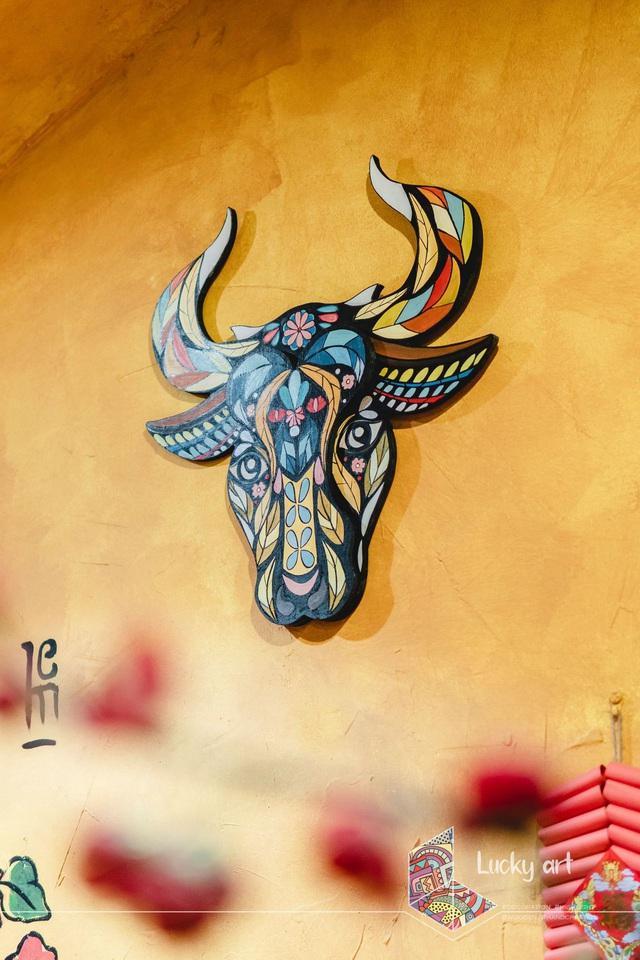 Ngắm bộ tranh phong thuỷ 12 con giáp mang vượng khí vào nhà cực đẹp - Ảnh 6.