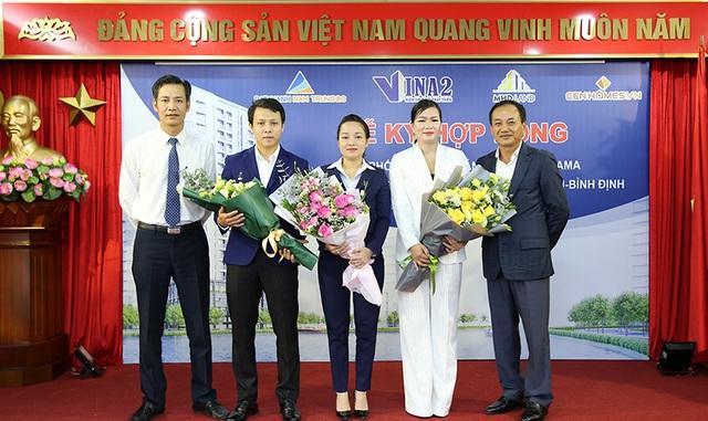 Vina2 ký hợp tác cùng các đơn vị phân phối dự án 3 mặt tiền ở Quy Nhơn - Ảnh 2.