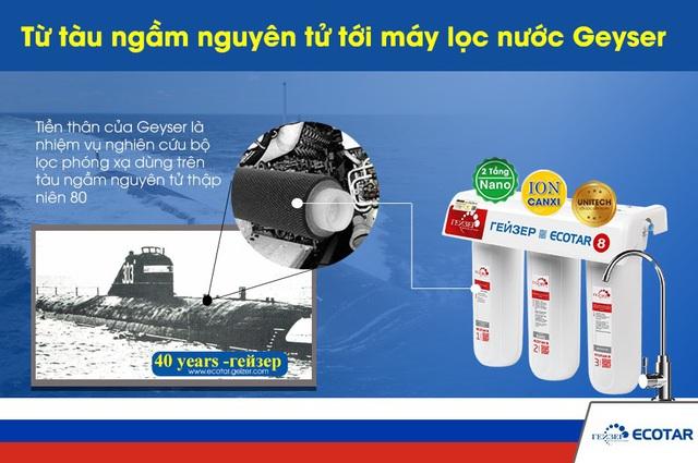 Bí mật khả năng xử lý nước nhiễm phóng xạ của máy lọc nước Geyser - Ảnh 1.