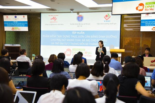 Bộ Y tế phối hợp với Ajinomoto cải thiện tình trạng dinh dưỡng và sức khỏe cho bà mẹ và trẻ em tại Việt Nam - ảnh 1