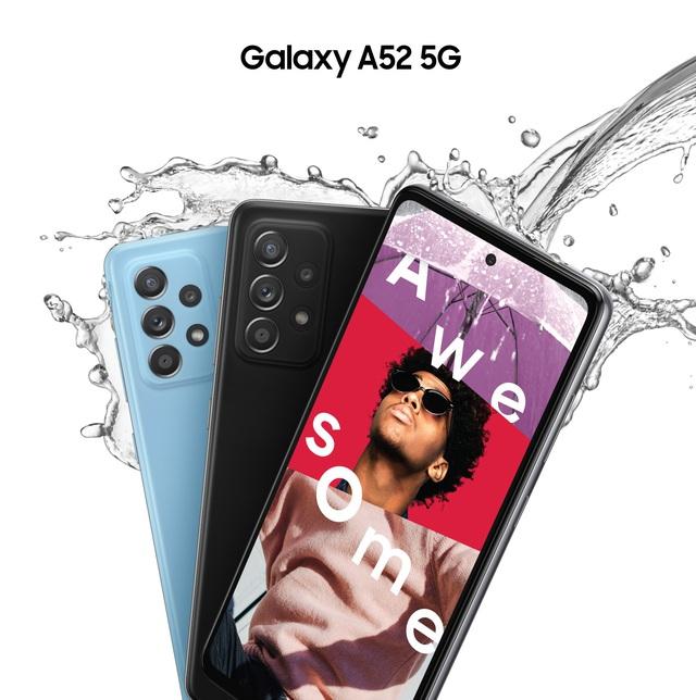 """""""Hot rần rần"""" với Samsung Galaxy A52 5G, vừa nhanh, mạnh, chống nước lại có cả bộ camera """"xịn xò"""" - ảnh 4"""