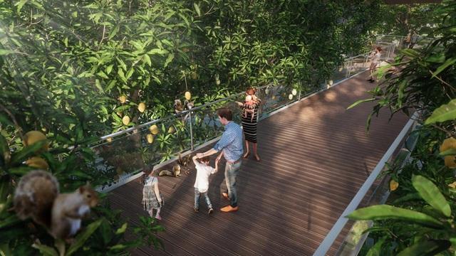 Cư dân Ecopark ngồi trong nhà vẫn có thể ngắm suối chảy, thác đổ - Ảnh 8.
