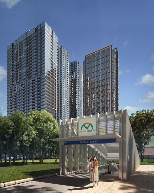 Quảng trường mới tại Sài Gòn - Grand Marina ngay bờ sông Quận 1 - Ảnh 3.