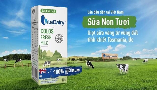 """Sữa Non Tươi VitaDairy- Quân bài chiến lược """"khác biệt"""" - Ảnh 1."""