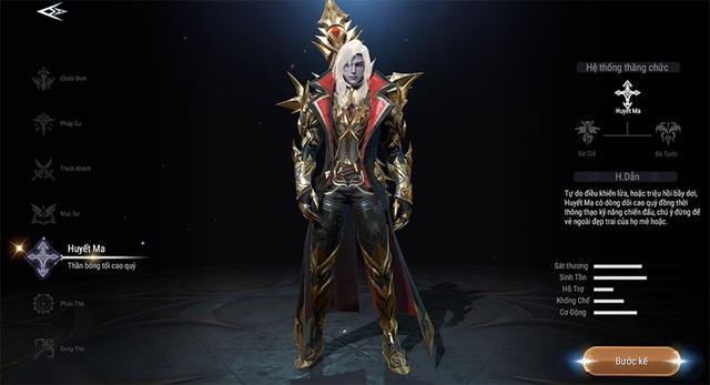 Khám phá vẻ đẹp huyền bí của 7 class nhân vật trong Forsaken World: Thần Ma Đại Lục - Ảnh 6.