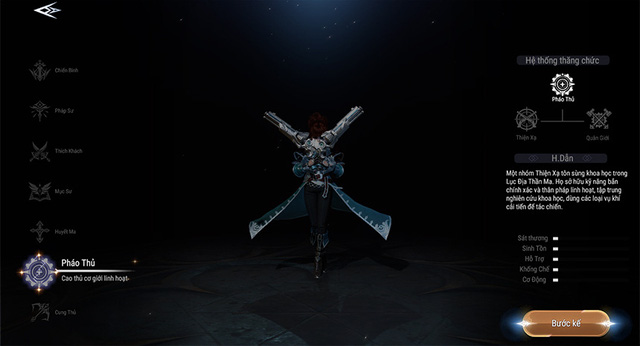 Khám phá vẻ đẹp huyền bí của 7 class nhân vật trong Forsaken World: Thần Ma Đại Lục - Ảnh 7.