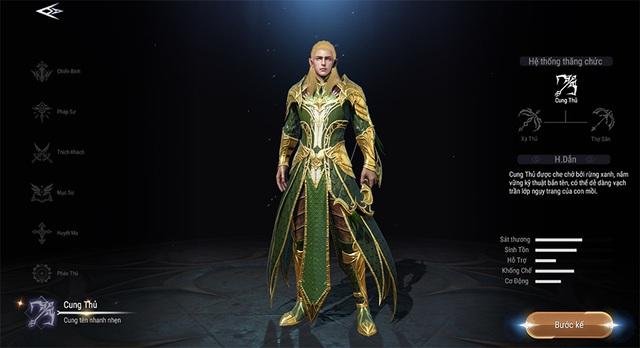 Khám phá vẻ đẹp huyền bí của 7 class nhân vật trong Forsaken World: Thần Ma Đại Lục - Ảnh 8.