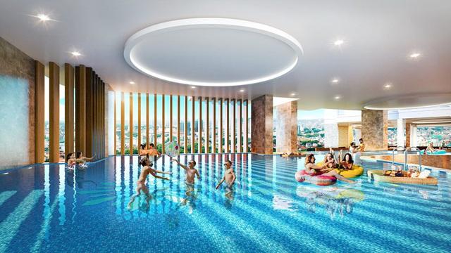 Tecco Center Point là chung cư tại Thanh Hóa tích hợp hệ thống bể bơi 4 mùa trong nhà