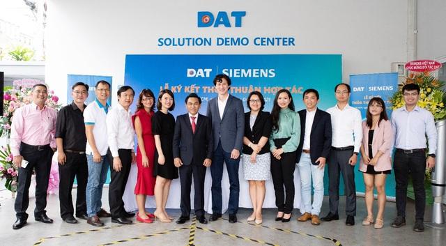 DAT chính thức hợp tác cùng Siemens - Ảnh 1.