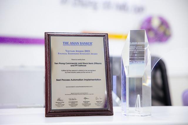 The Asian Banker: TPBank là ngân hàng số xuất sắc nhất và có quy trình được tự động hóa tốt nhất Việt Nam - Ảnh 1.
