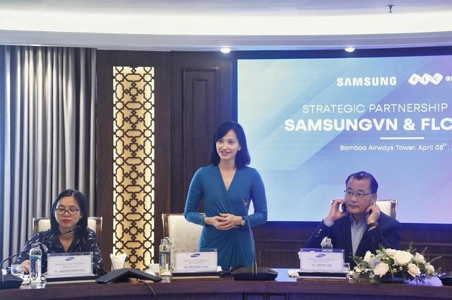 Tập đoàn FLC và Samsung thúc đẩy hợp tác chiến lược toàn diện - Ảnh 2.