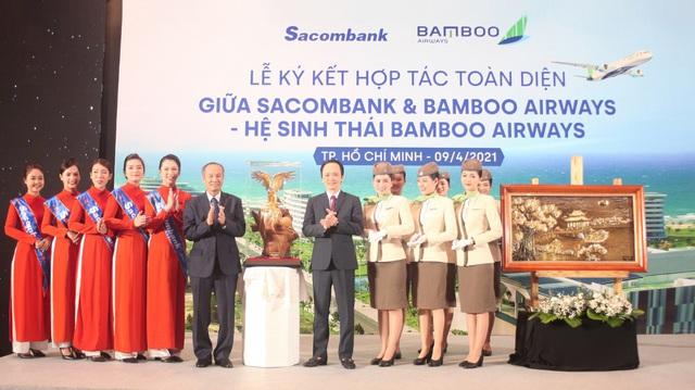 Sacombank và Bamboo Airways hợp tác toàn diện - Ảnh 4.