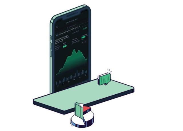 """""""Bắt sóng"""" đầu tư chứng khoán cùng ứng dụng trí tuệ nhân tạo - Ảnh 1."""