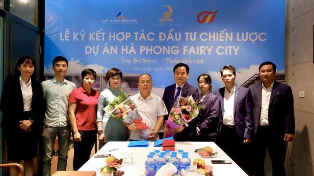Ký kết hợp tác đầu tư chiến lược dự án Hà Phong Fairy City Hạ Long - Ảnh 1.
