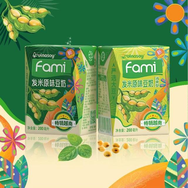 Sữa đậu nành Fami của Vinasoy chinh phục thành công thị trường Trung Quốc và Nhật Bản - Ảnh 1.