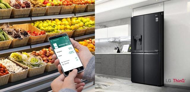 """Chính thức ra mắt LG French Door –  chiếc tủ lạnh biết """"yêu chiều"""" thực phẩm - Ảnh 4."""