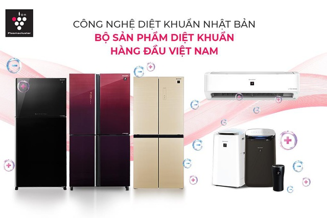 Sharp giới thiệu tủ lạnh chủ động diệt khuẩn bằng Plasmacluster Ion - Ảnh 4.