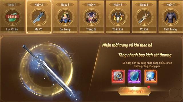 Mừng game ra mắt chính thức, Forsaken World: Thần Ma Đại Lục mạnh tay tung nhiều quà hot khiến game thủ choáng ngợp - Ảnh 3.