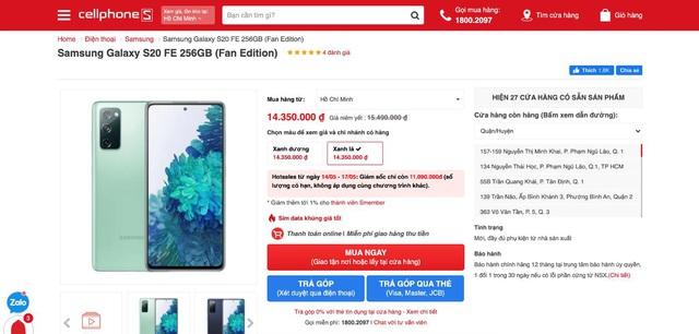Samsung chiều lòng người dùng, mang phiên bản Galaxy S20 FE Snapdragon về Việt Nam - Ảnh 4.