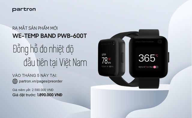 Partron ra mắt hai mẫu đồng hồ thông minh Urban HR và We-temp Band, Made in Việt Nam, có đo nhiệt độ cơ thể giá chỉ từ 1.290.000 đ - Ảnh 5.