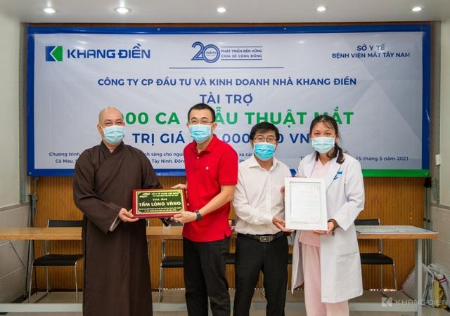 Khang Điền tài trợ chương trình phẫu thuật mắt cho 1000 bệnh nhân vùng sâu vùng xa - Ảnh 1.