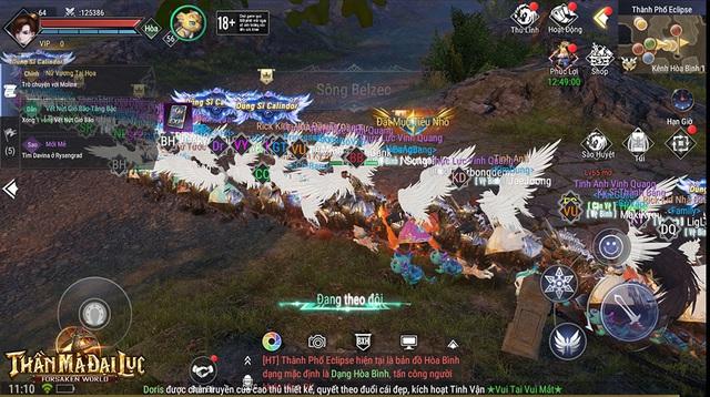 """Game thủ nói """"Mới vào game là thấy Forsaken World: Thần Ma Đại Lục đẹp và đỉnh"""" - Ảnh 1."""