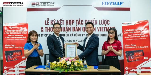 GOTECH ký hợp đồng thỏa thuận bản quyền Vietmap trị giá gần 30 tỷ đồng - Ảnh 1.