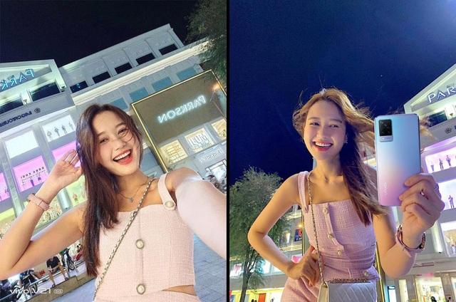 """Mặc trời tối thui, các YouTuber nổi tiếng Giang Ơi, Chan La Cà… vẫn chụp hình cực xịn nhờ """"siêu phẩm selfie"""" này - ảnh 4"""
