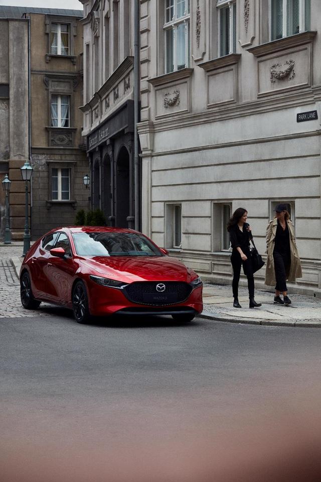 Mazda3 Sport: Điểm nhấn khác biệt tạo lợi thế cạnh tranh - Ảnh 4.