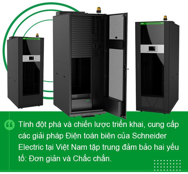 Giám đốc Schneider Electric IT Việt Nam: Điện toán biên là xu hướng đúng đắn và cấp thiết cho doanh nghiệp - Ảnh 7.