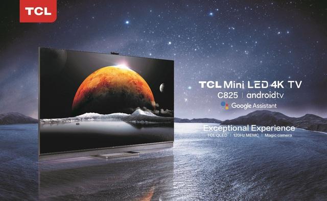 TCL 4K Mini LED AI-IN C825 – Tiên phong công nghệ Mini LED x QLED - Ảnh 1.