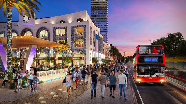 Vega Continental Shopping Plaza - Đại hải trình giữa lòng vịnh Nha Trang - Ảnh 1.