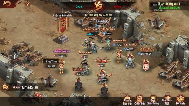 Tân OMG3Q VNG chính thức ra mắt phiên bản mới đầu tiên mang tên Công Thành Chiến với nhiều tính năng liên server hấp dẫn - Ảnh 3.