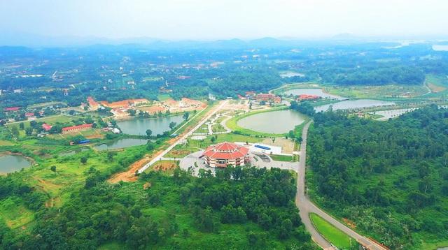 Sản phẩm đất nền bao quanh làng văn hóa xây dựng homestay đang là xu hướng trên thị trường