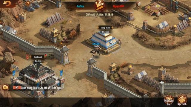 Tân OMG3Q VNG chính thức ra mắt phiên bản mới đầu tiên mang tên Công Thành Chiến với nhiều tính năng liên server hấp dẫn - Ảnh 4.