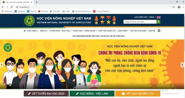 Học viện Nông nghiệp Việt Nam chung tay phòng, chống dịch Covid-19 - Ảnh 1.
